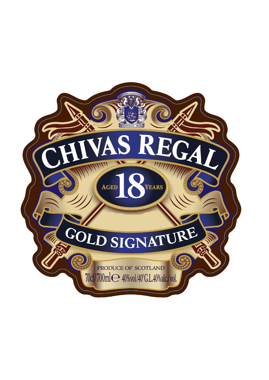 Chivas Regal Gold Signature Logo Pictures.