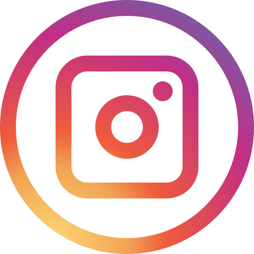 Social, media, instagram, circle Free Icon of Social media.