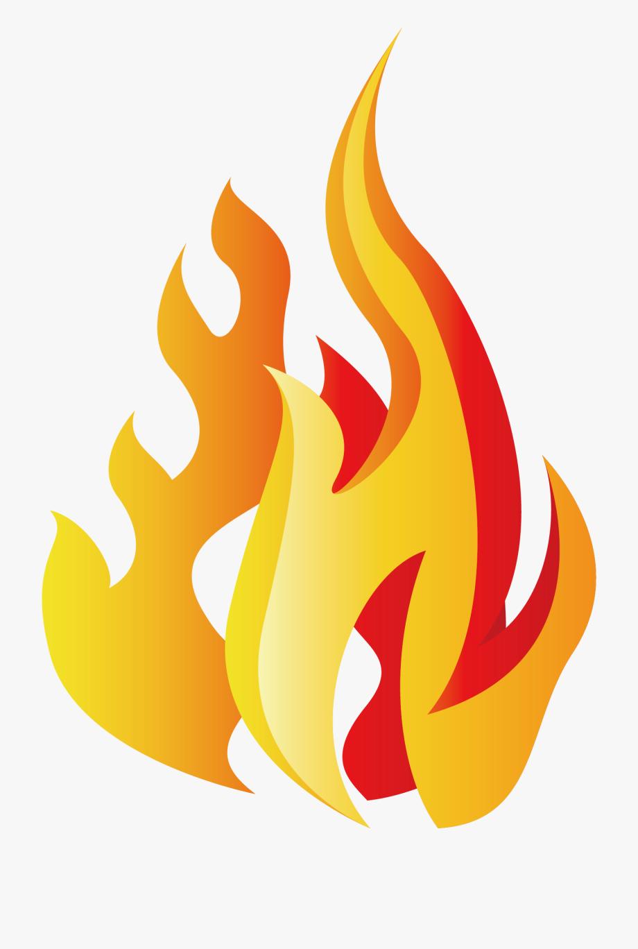 Cool Flame Clip Art.