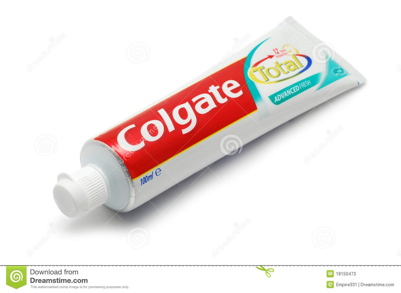 Colgate Toothpaste Clipart.