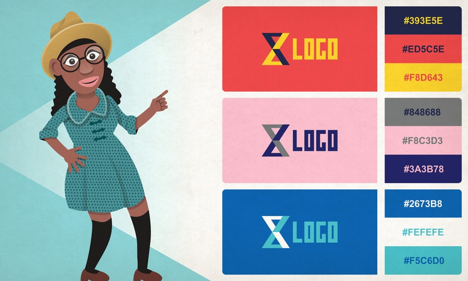 24 logo color combinations to inspire your next logo design.