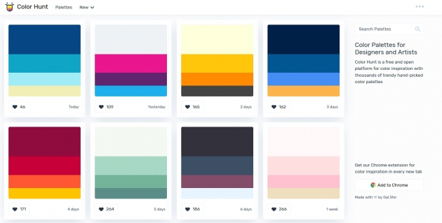 12 best brand color palette tools to make your perfect blog.