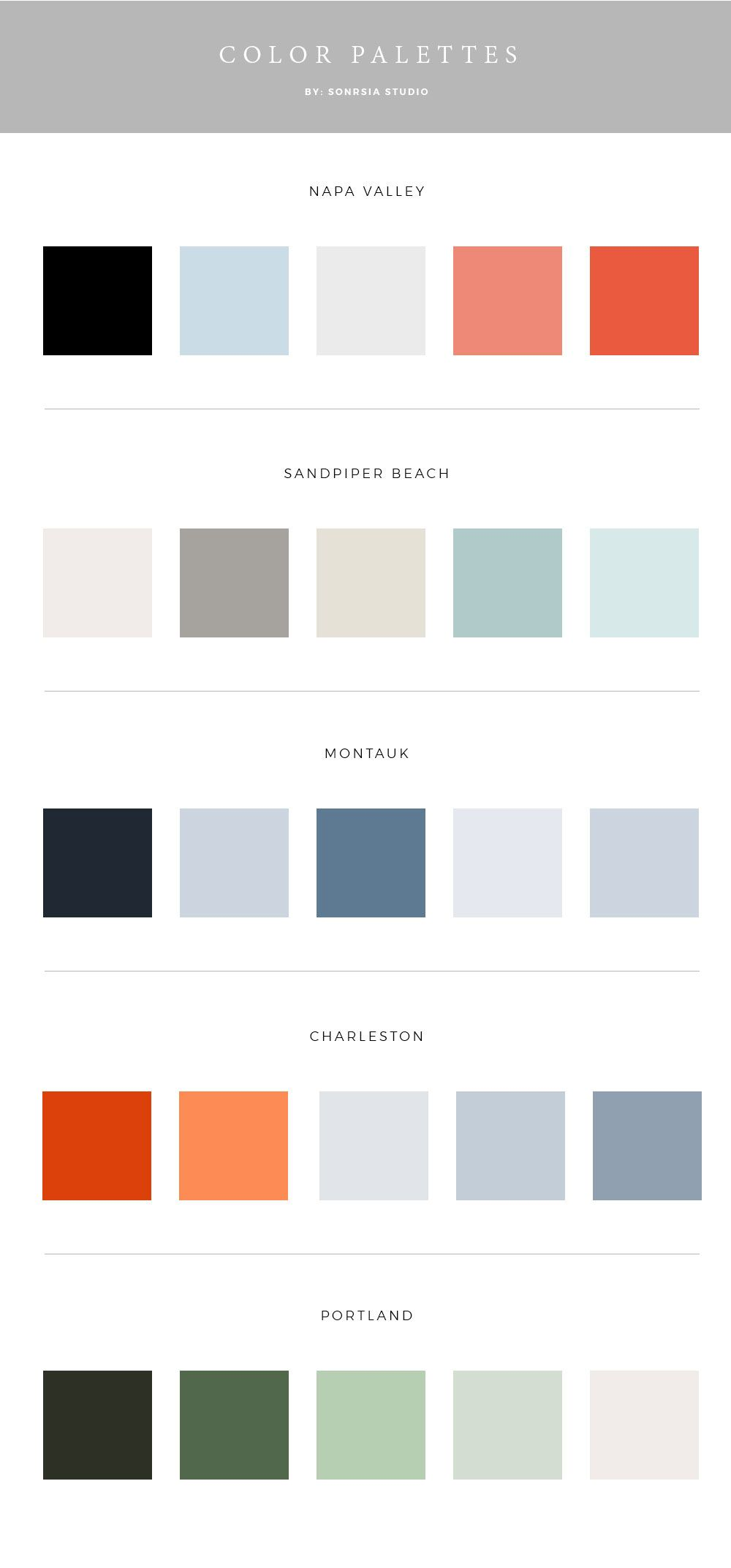 Beautiful Color Palettes for Your Brand.