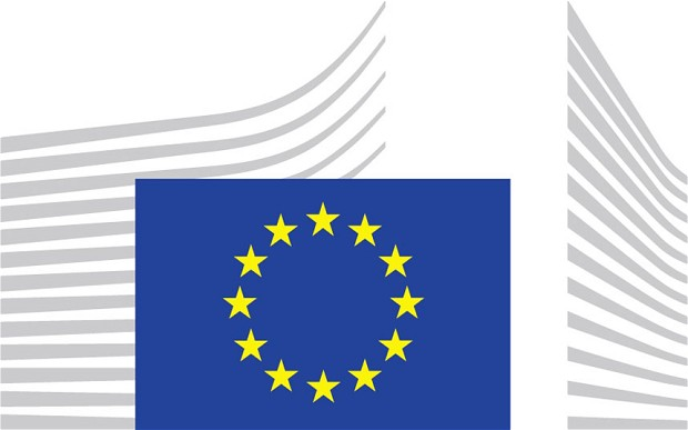 European Commission spent £300,000 on logo redesign.