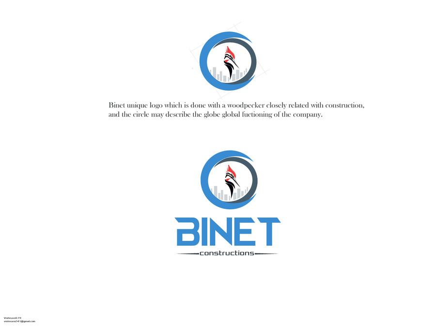 Entry #98 by vishnuvs619 for Design a Logo for BINET.