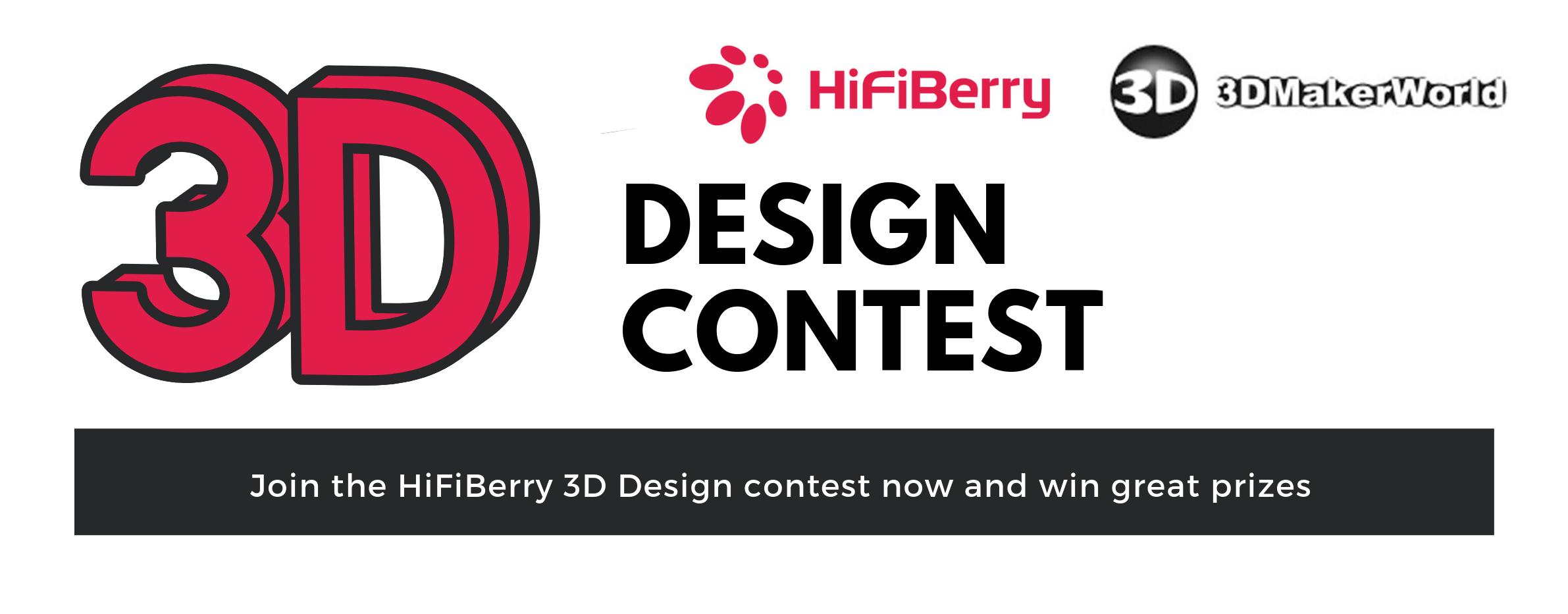 3D design contest.