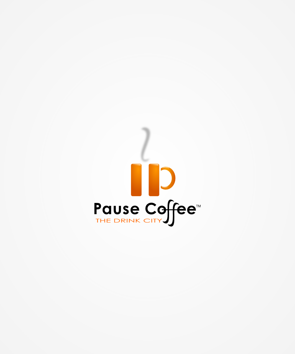 Logo Submission for \'Pause Coffee\' Contest.