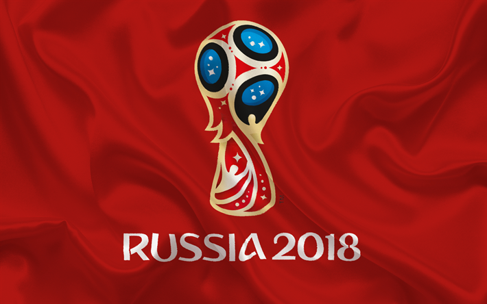 Download imagens A rússia 2018, logo, futebol, campeonato do.