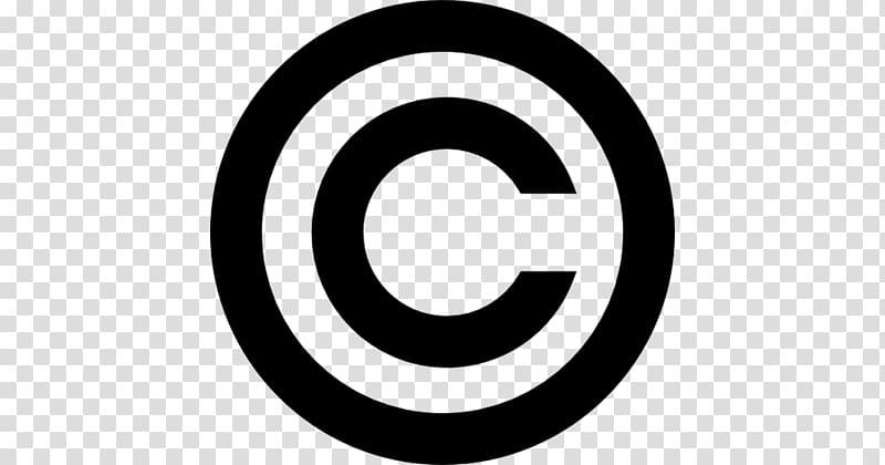 Copyright symbol Law Author Logo, copyright transparent.