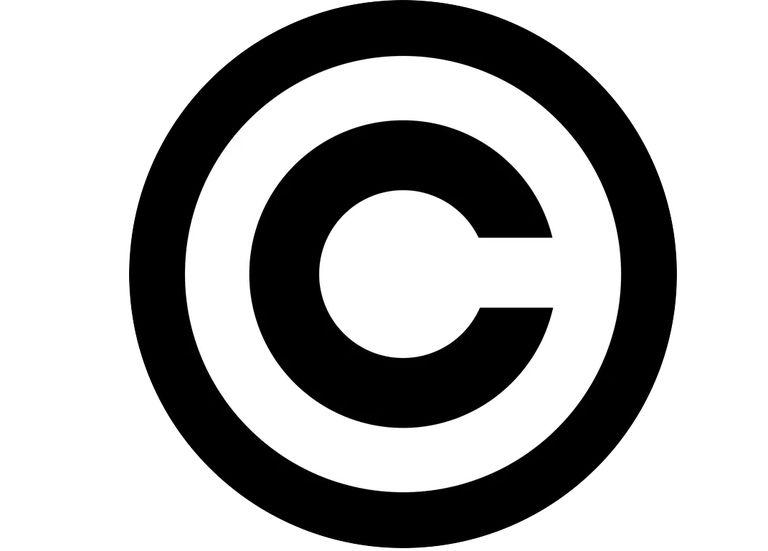 copyright logo.