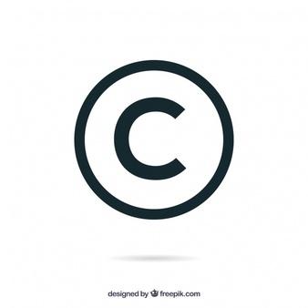 Copyright Symbol Vectors, Photos and PSD files.