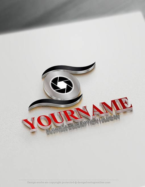 Free Photography Logo Maker.
