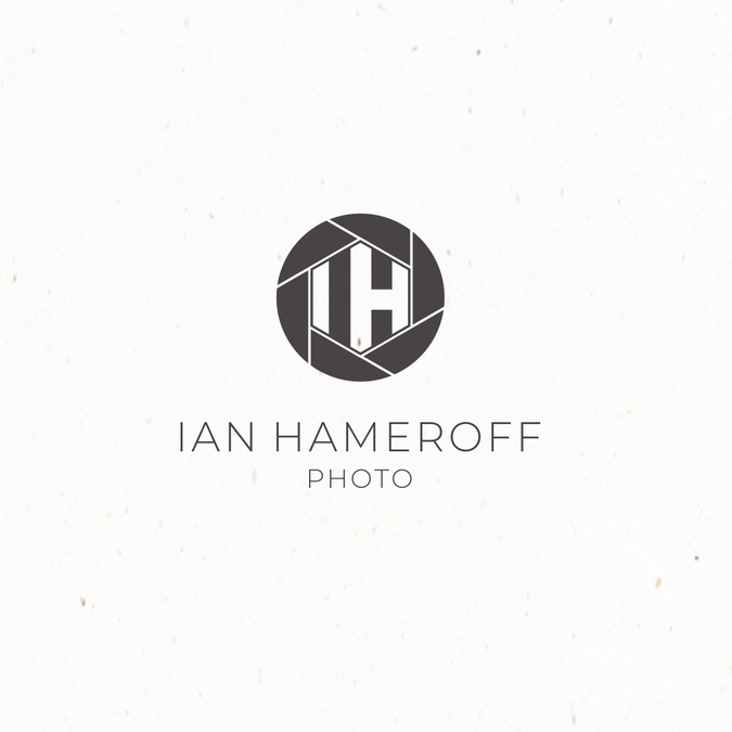 Design a modern, clean, crisp photographer logo and.