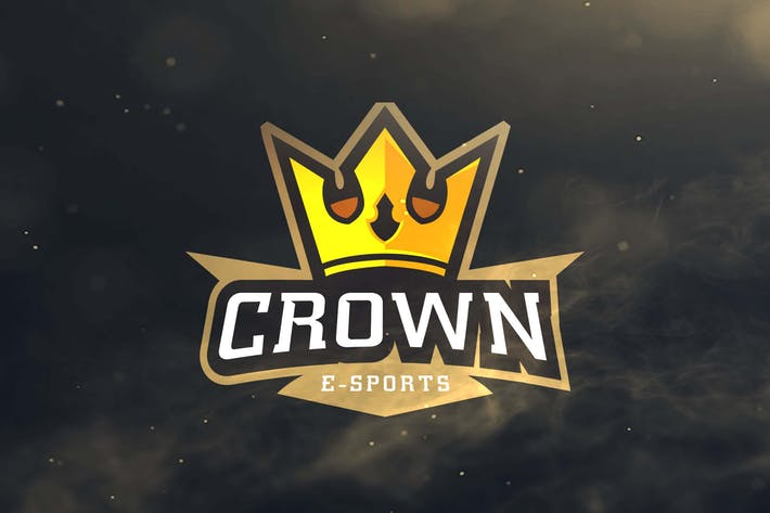 Crown Sport and Esport Logos by ovozdigital on Envato Elements.