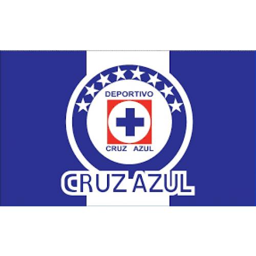 S.V.T. Cruz Azul Luxury Plush Queen Blanket.