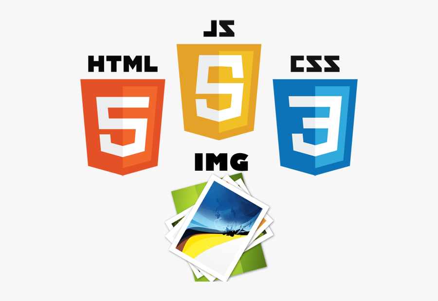 Html Css Js Logo Png , Free Transparent Clipart.