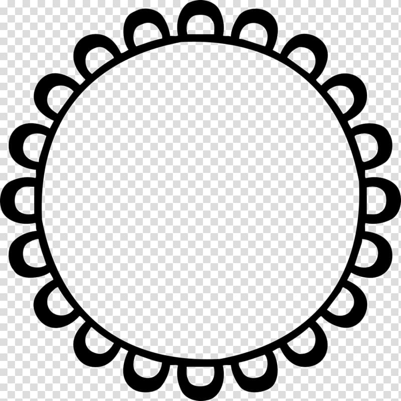 Logo , cute Circle Frame transparent background PNG clipart.