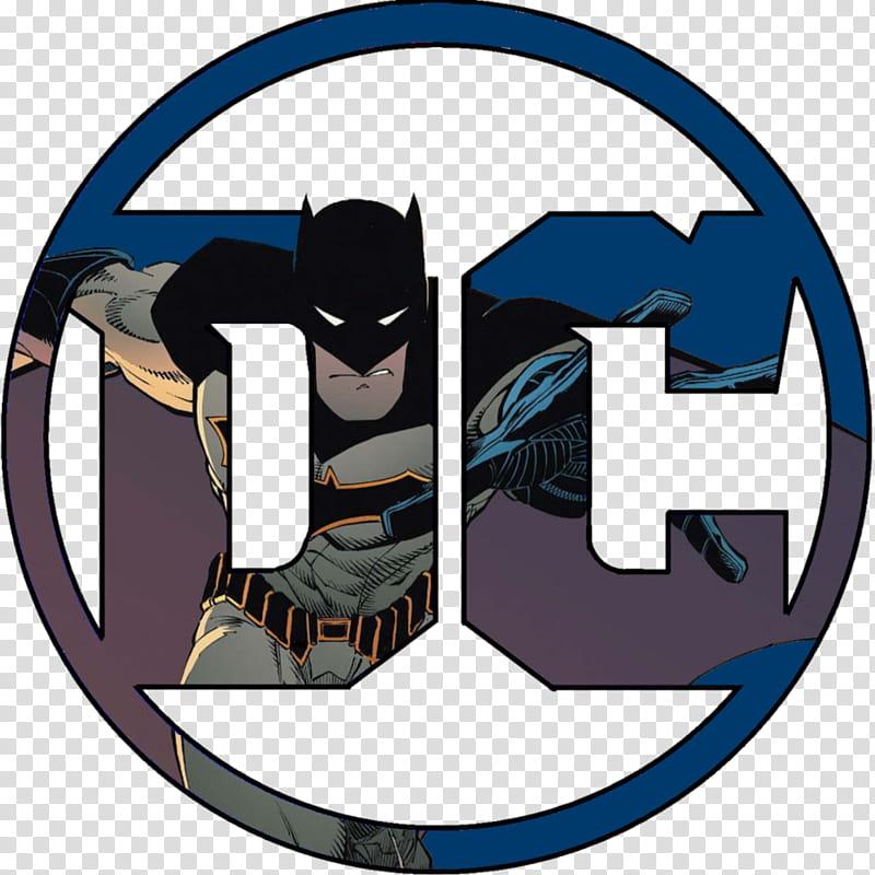 DC Logo for Batman transparent background PNG clipart.