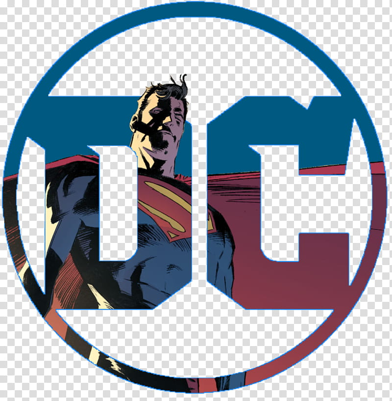 DC Logo for Superman transparent background PNG clipart.