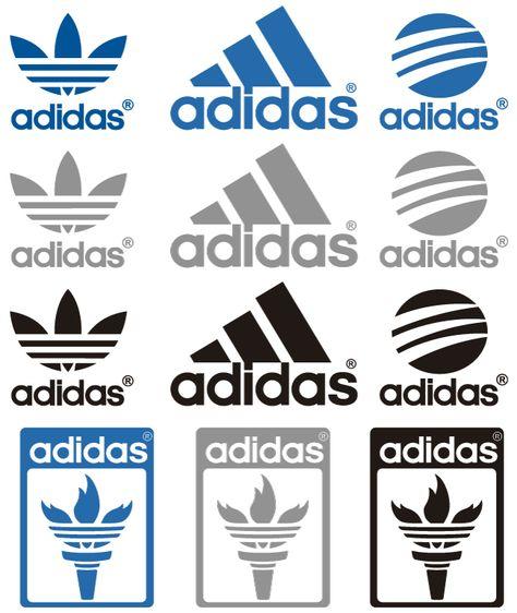 Logos de Adidas.
