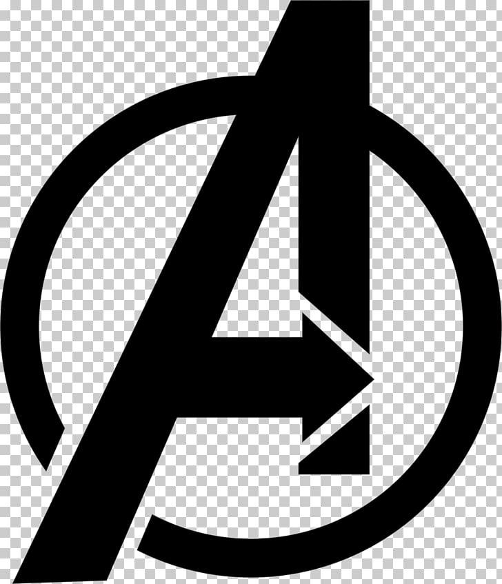 Logo Avengers Marvel Cinematic Universe, burning letter a.
