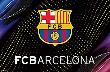 Trends International FC Barcelona Logo Wall Poster 22.375\