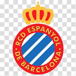 Team Logos, RCD Espanyol De Barcelona logo transparent.