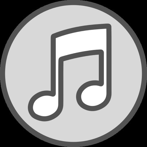 Icono La música, sociales, red, marca, logo, Gratis de.