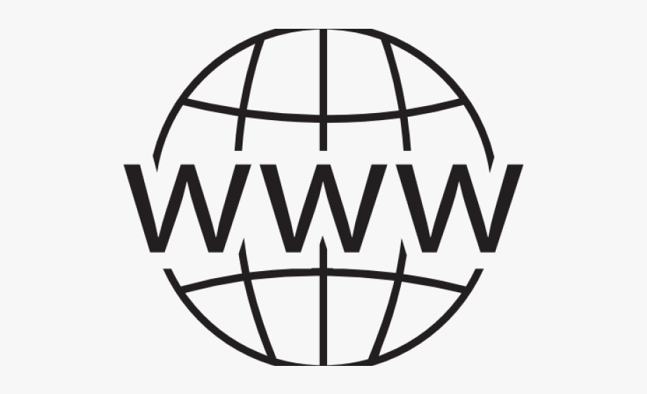 13 World Wide Web Clipart Black And White Free Clip.