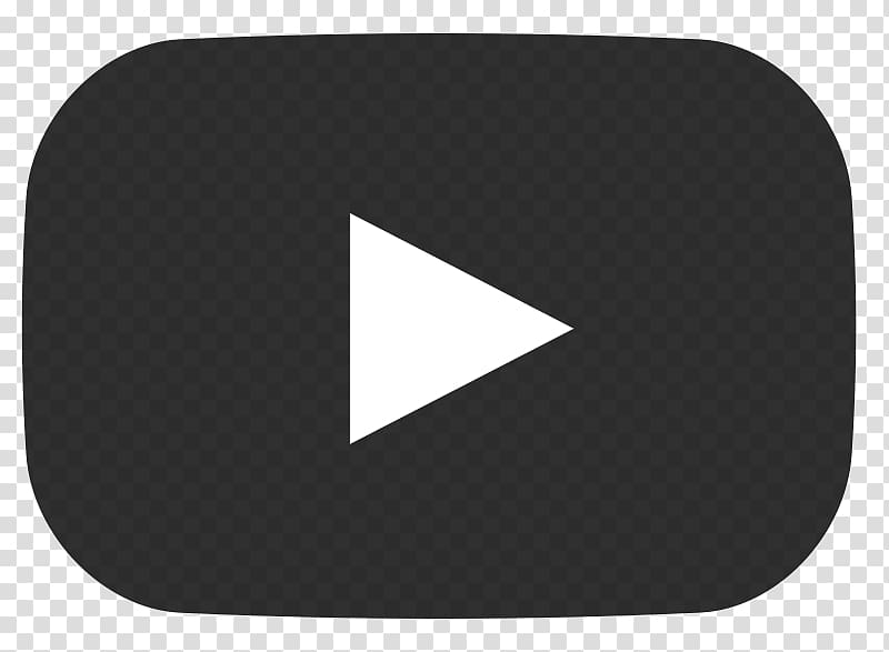 Play button logo, Play Youtube Grey Button transparent.