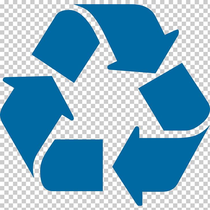 Símbolo de reciclaje logo, papelera de reciclaje PNG Clipart.