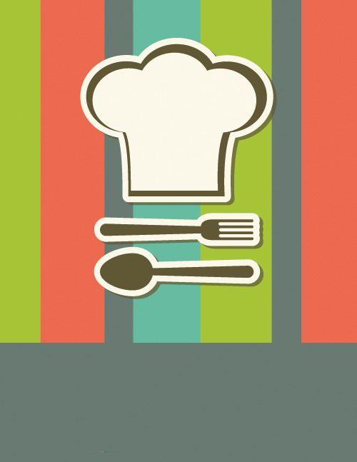 Restaurant Menu Cover Creative Logo, Menu Clipart, Logo.