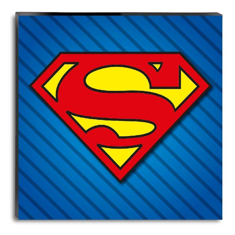 LOGO SUPERMAN.