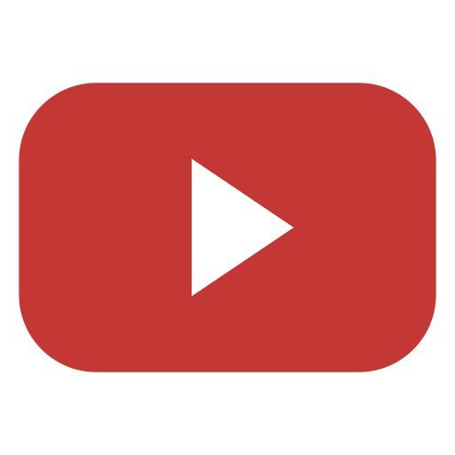 Youtube play button logo.
