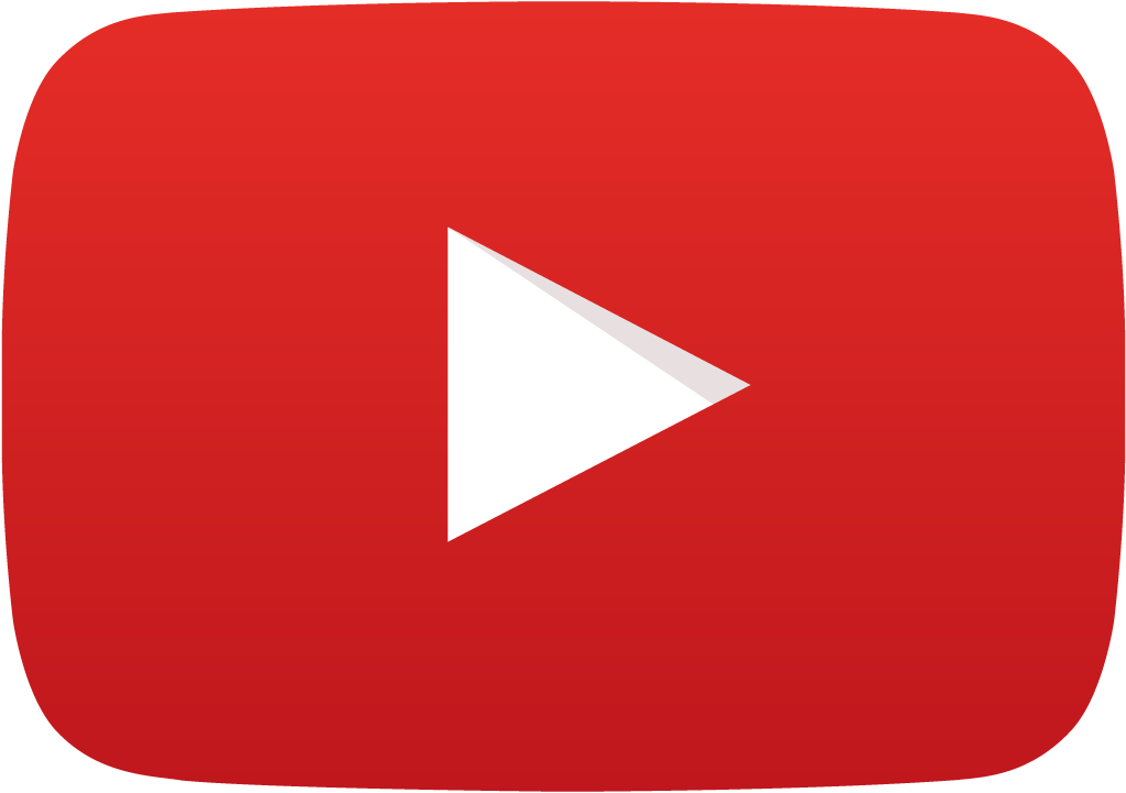Youtube Play Logo transparent PNG.