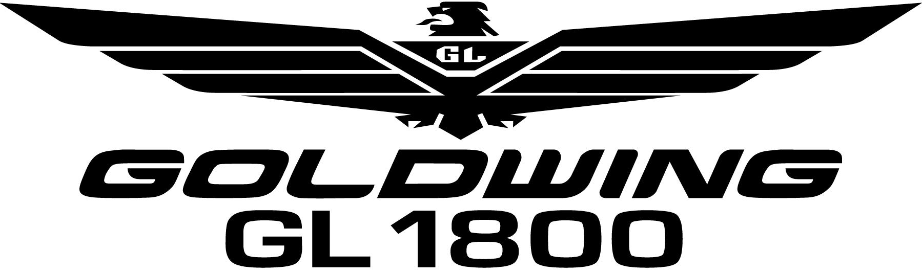 GL1800 Goldwing Logo Decal.