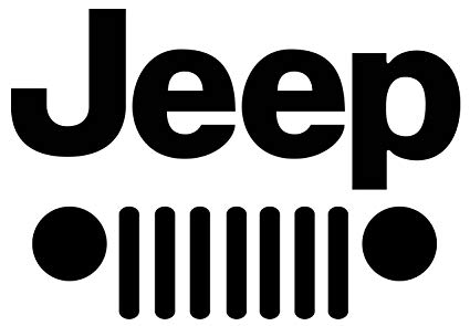 Amazon.com: 2\' Jeep Vinyl Lettering Logo Decal Sticker Die.