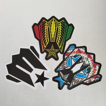 Cheap Custom Logo Design Printing Adhesive Decal Die Cut Sticker.