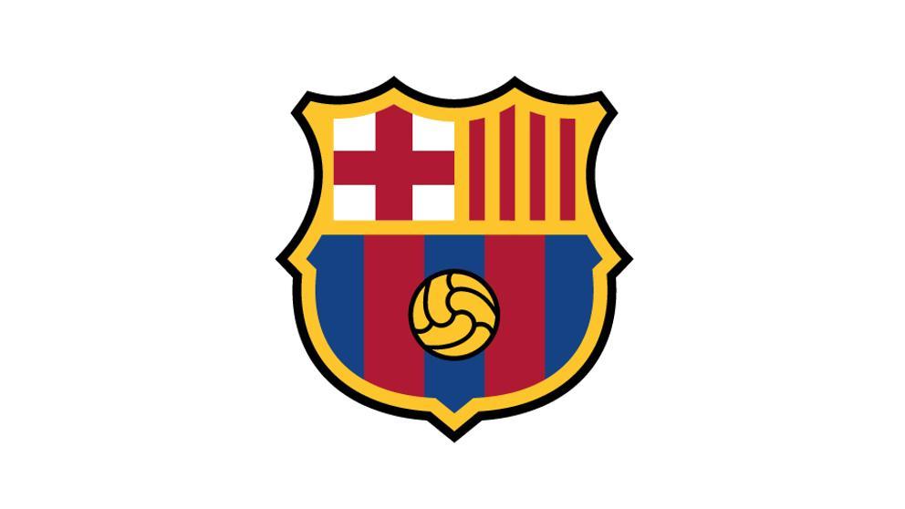 Así será el nuevo escudo del Barcelona.