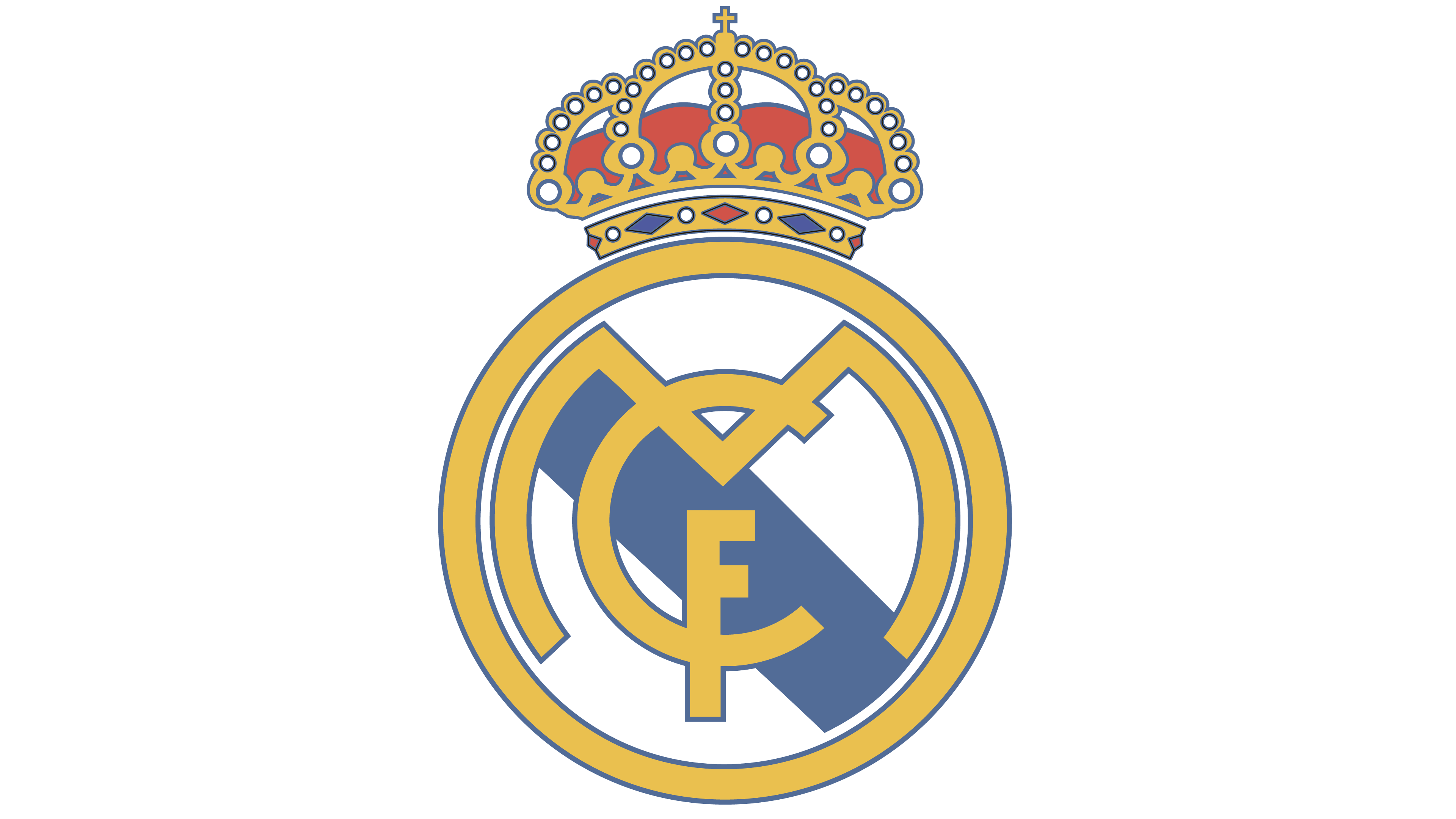 Real Madrid logo.