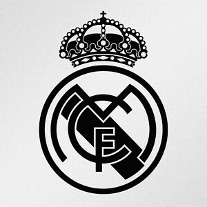 Details about Real Madrid Logo Car Laptop Motorbike Vinyl Decal Sticker.