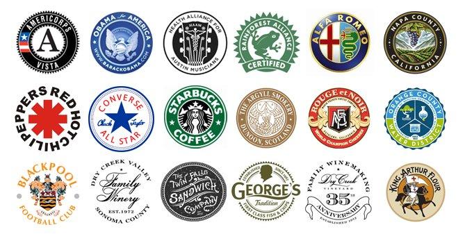 Logo Design 101: The Combination Logo, Part 2: Seals.
