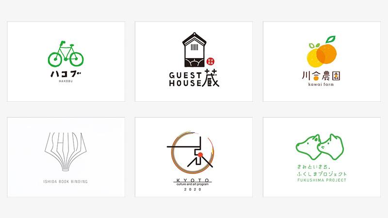 Japanese logo design.