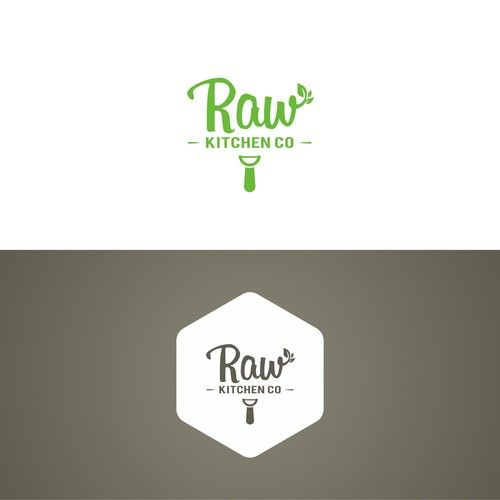Create a clean, organic logo for our new kitchen.