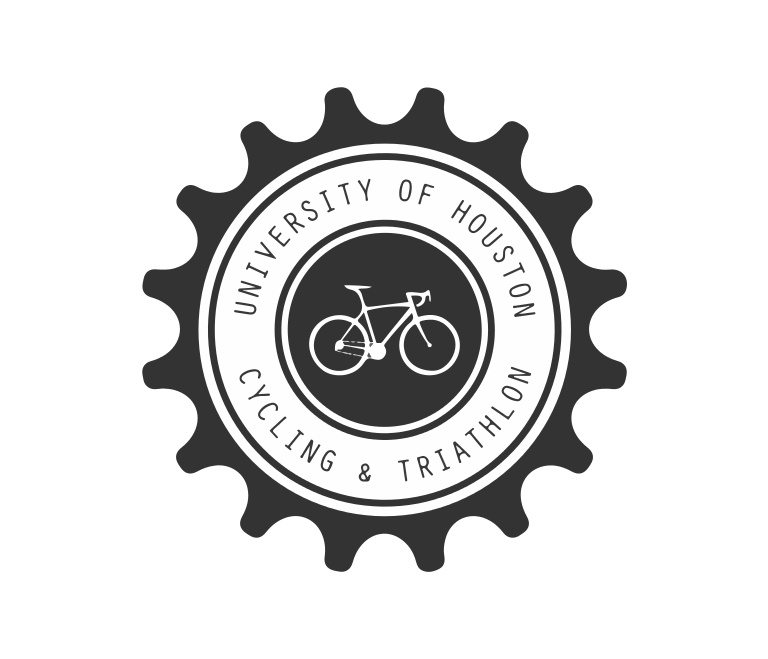 University of Houston Cycling and Triathlon Logo Design.
