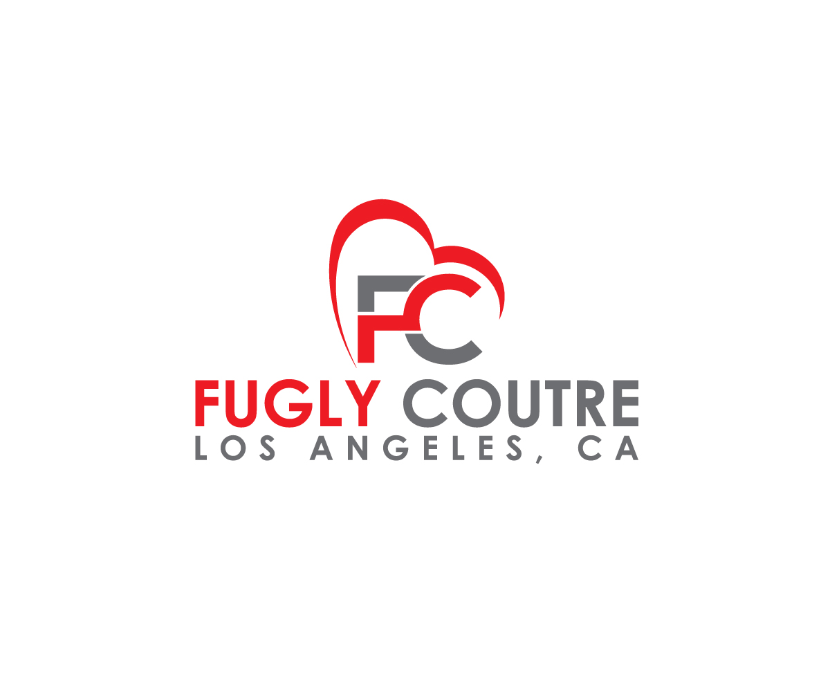 Bold, Serious, Fashion Logo Design for FUGLY COUTURE LOS.