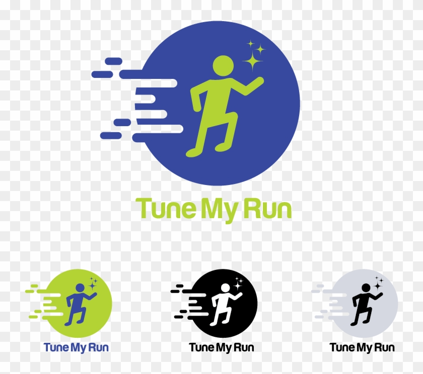 This Is My Logo Design For Tune My Run.