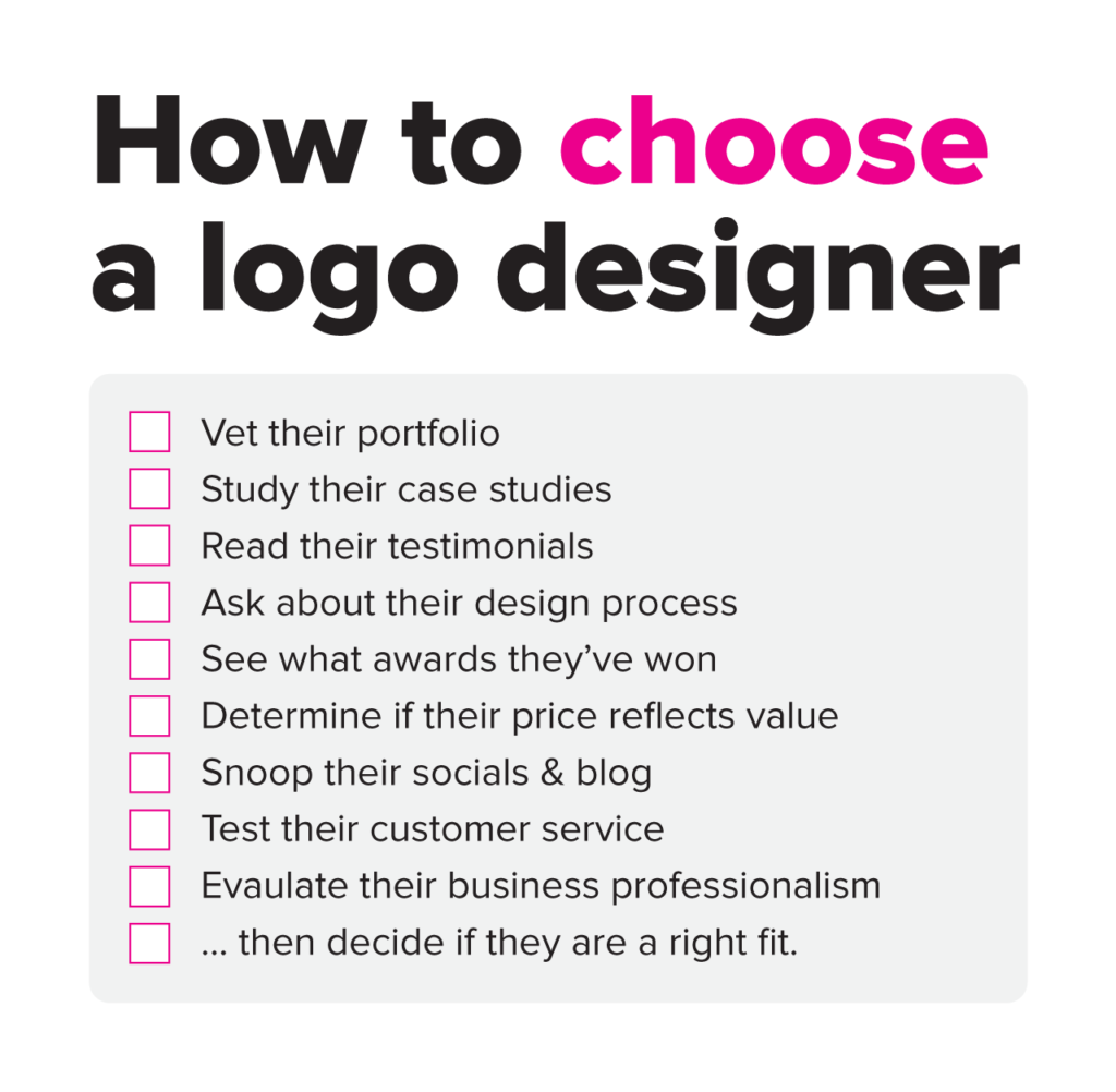 How much does a logo design cost? Price Guide.