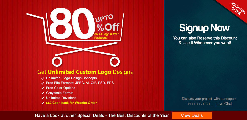 Online Logo Design Services by Custom Logo Design Company in.