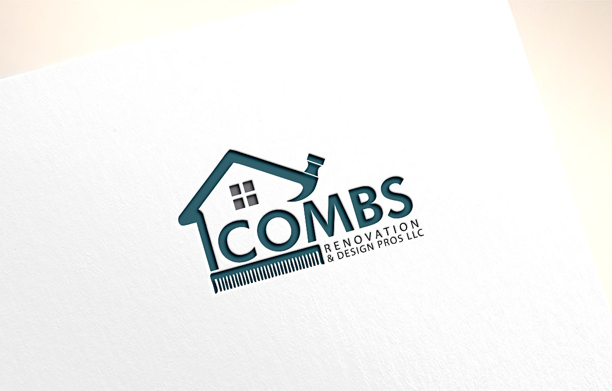 Professional, Serious, Residential Construction Logo Design.